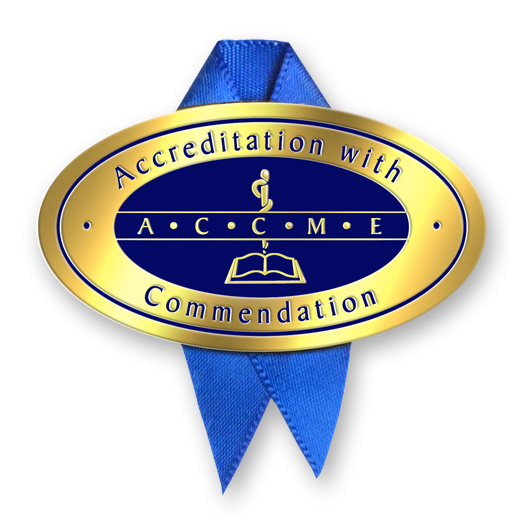 ACCREDITATION WITH COMMENDATION LOGO