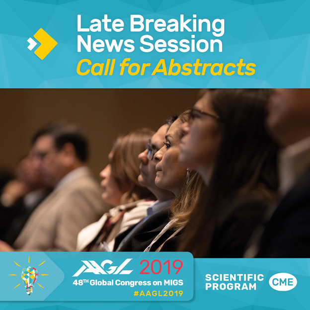 Late Breaking News Call for Abstracts
