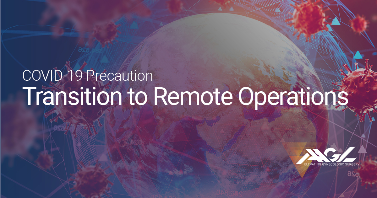 transition to remote operations
